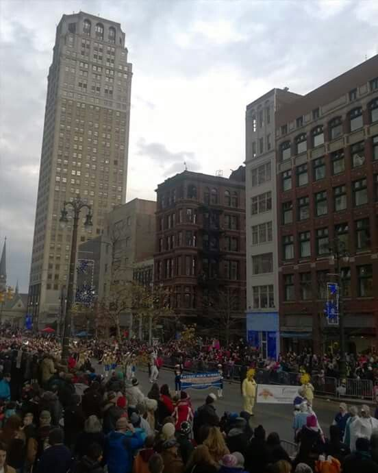Thanksgiving Parade in the D 2015