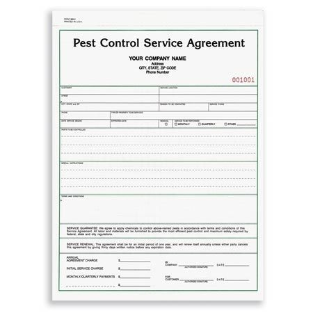 PCCC-882, Pest Control Service Agreement Pest Control Pinterest