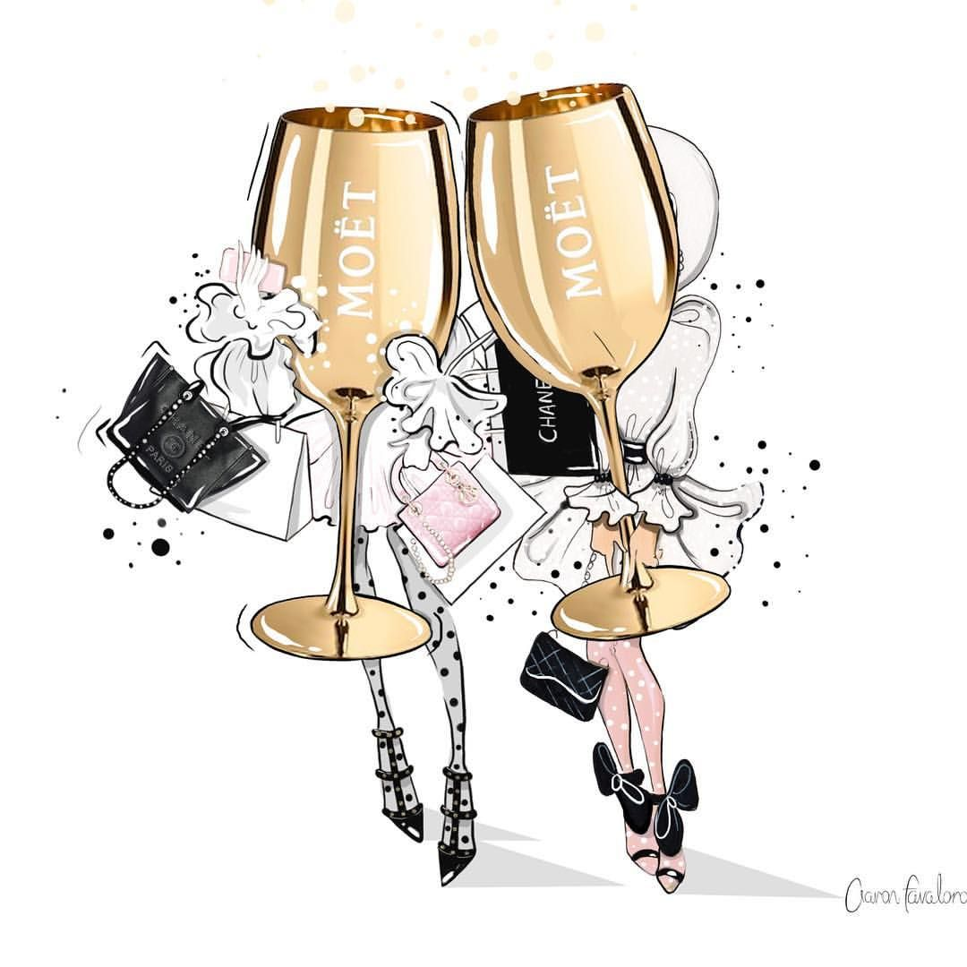 "Photo of Afavaloro Fashion Illustrator on Instagram: ""So excited tomorrow morning I will be painting live with @moetchandon at the @westinmelbourne for the Melbourne cup Breakfast. Can't wait…"""