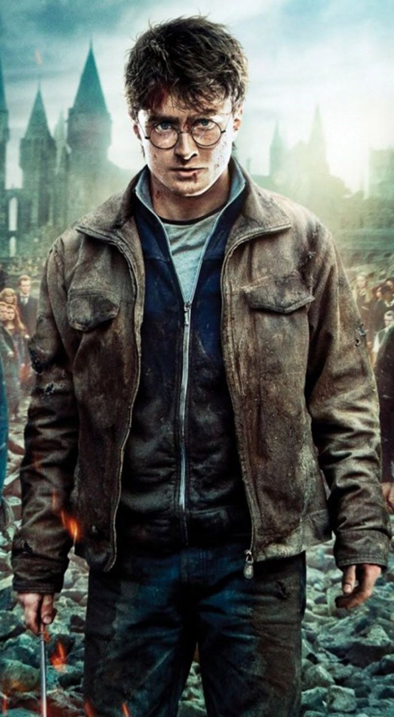 Harry Potter And The Deathly Hallows Movie Jacket Harry Potter Quiz Rowling Harry Potter Harry Potter Film
