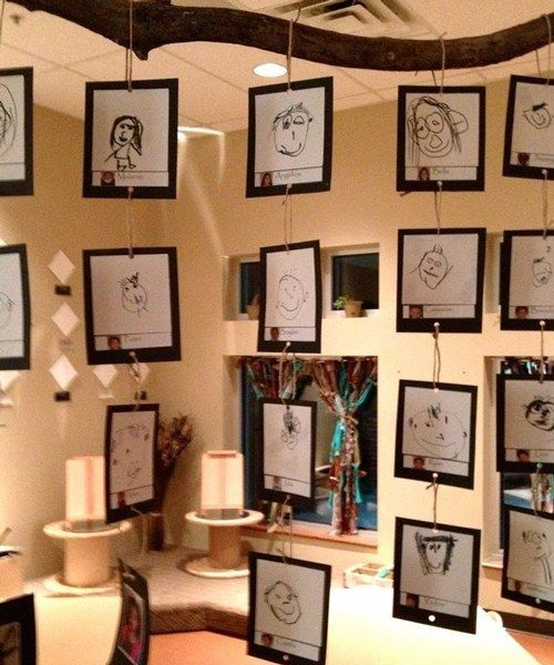 16 awesome ways to display student work creative art for Creative ways to display artwork