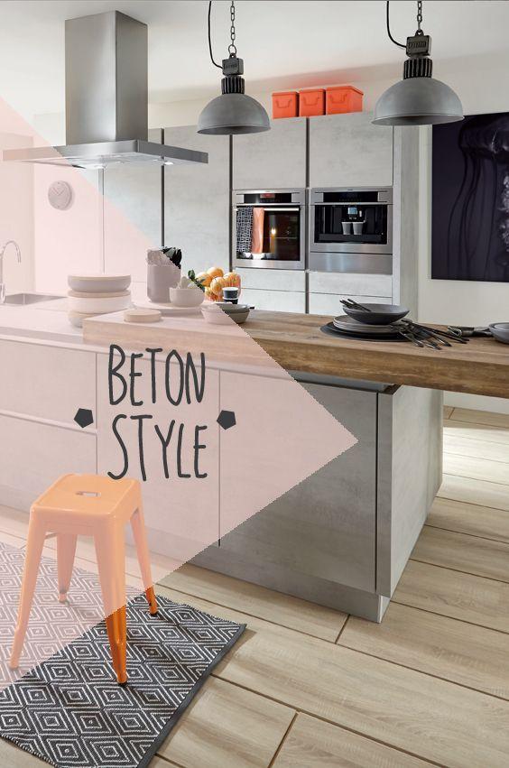Küchentrend Beton Mit Betonoberflächen Die Küche Gestalten Beton