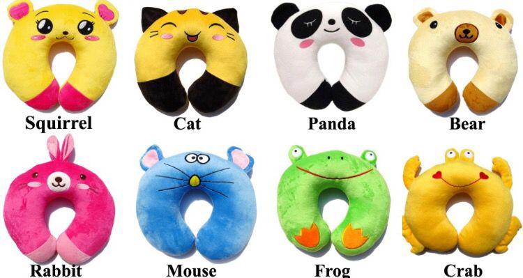 Kids Travel Pillow Animal Neck Support