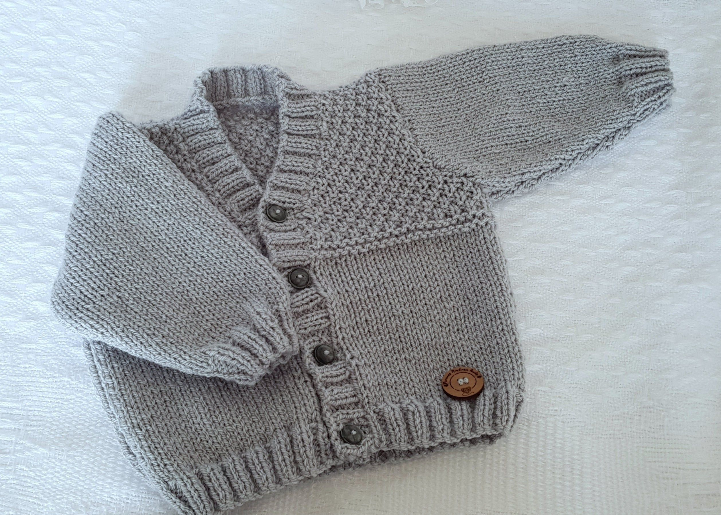 24 Months Baby Boy BOYS Spanish Style Knitted Cardigan New Born