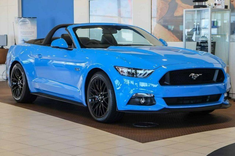 2017 Ford Mustang Gt Selectshift Convertible Grabber Blue Large