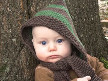 10 free scoodie (scarf + hoodie) patterns. Some to knit ...