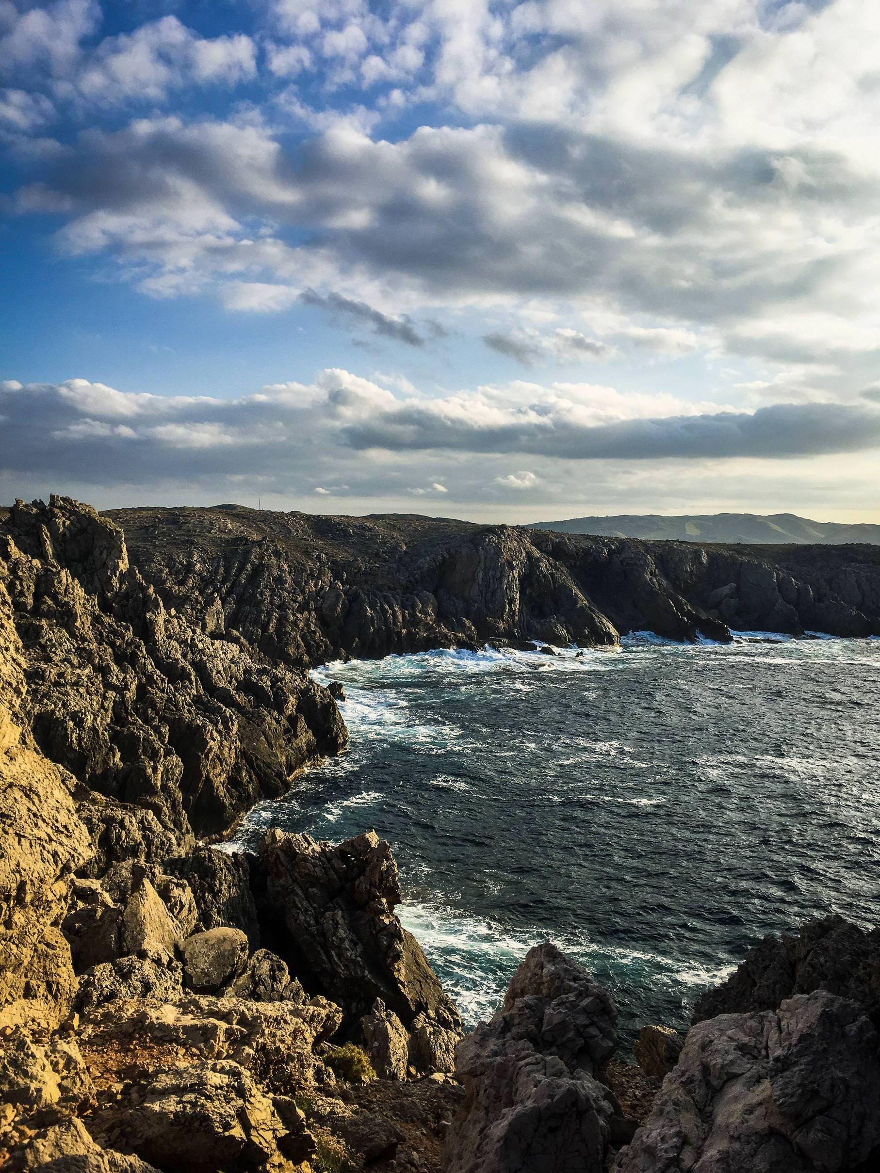 On the edge of Menorca Spain travel ttot nature photo
