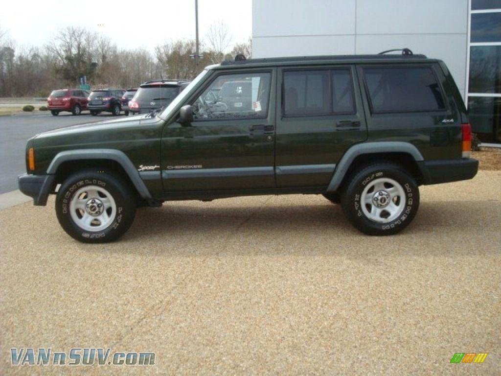 1998 Jeep Cherokee Sport 1998 Jeep Cherokee Sport 4x4 In Emerald Green Pearl Photo 3 237616 Jeep Cherokee Sport Cherokee Sport Jeep Cherokee