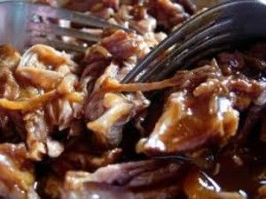 A nutritious and simple dish, pastured pork shoulder is slow roasted in the crock pot (slow cooker) with simple spices.