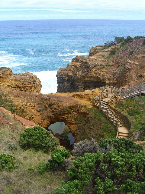The Grotto, Port Campbell National Park, Australia (by pellethepoet).