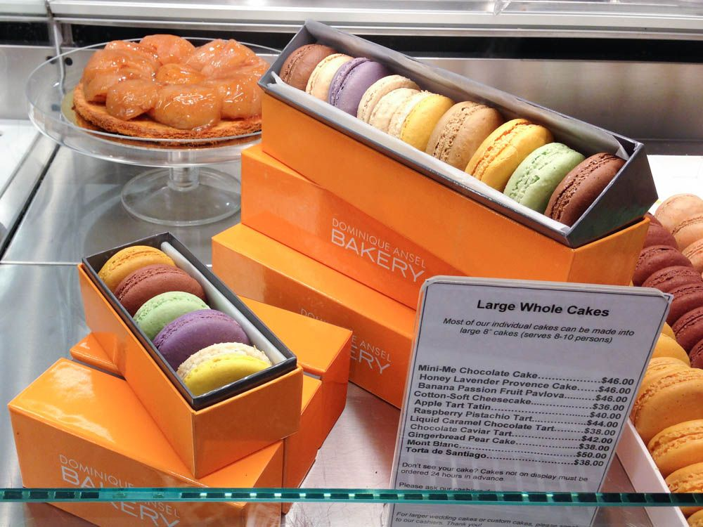 French Macarons At Dominique Ansel Bakery New York