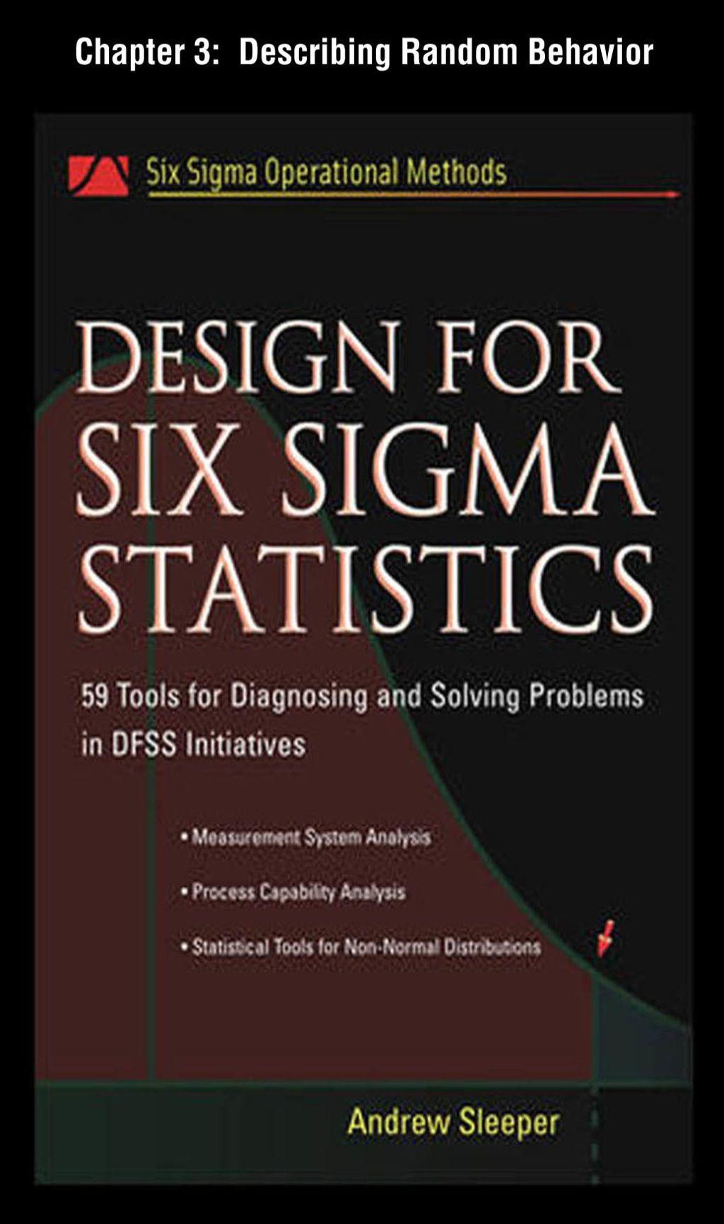 Design For Six Sigma Statistics Chapter 3