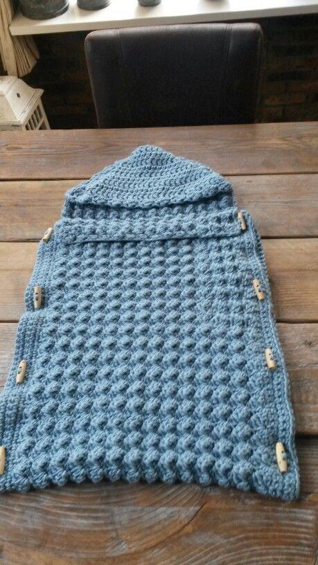 Slaapzaktrappelzak Knitting Pinterest Crochet Cocoon Crochet