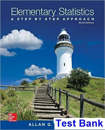 Elementary statistics a step by step approach 9th edition bluman elementary statistics a step by step approach 9th edition bluman test bank test bank fandeluxe Choice Image