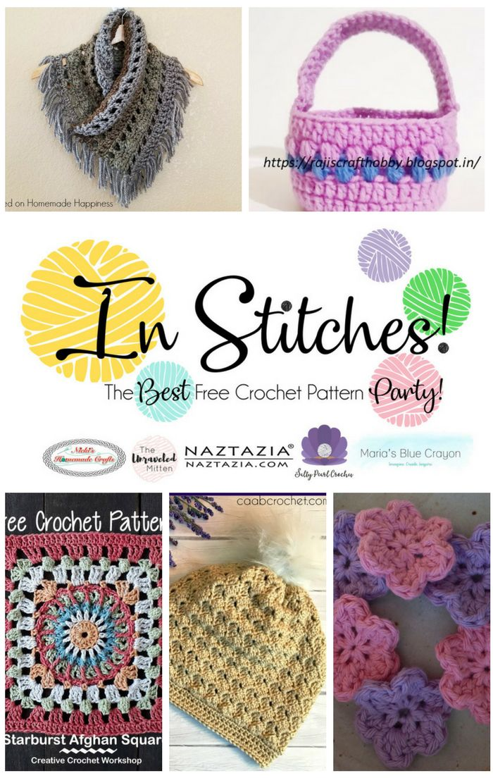 In Stitches The Best Free Crochet Pattern Party Crochet