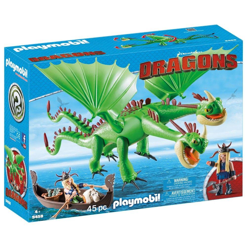 Playmobil 70040 hipo y Astrid con bebé dragón