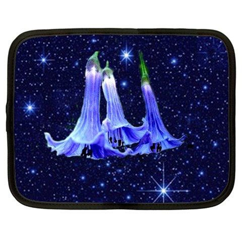 Starry Starry Night Netbook Bag computer padded by NirvanaRoad, $12.00