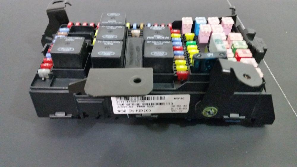 excursion f-250 f-350 super duty 4x4 under dash fuse relay box  3c7t-14a067-db #fordoem