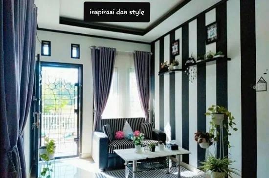 8 Desain Ruang Tamu Minimalis Ukuran 3x4 Dengan Tema Hitam Putih Desain Ruang Tamu Desain Desain Ruangan