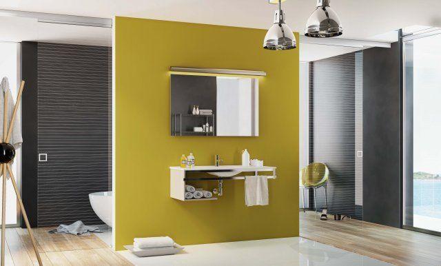 D limiter des espaces dans une salle de bain portes - Separation salle de bain ...