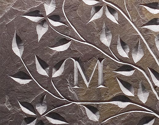 Image result for carved slate