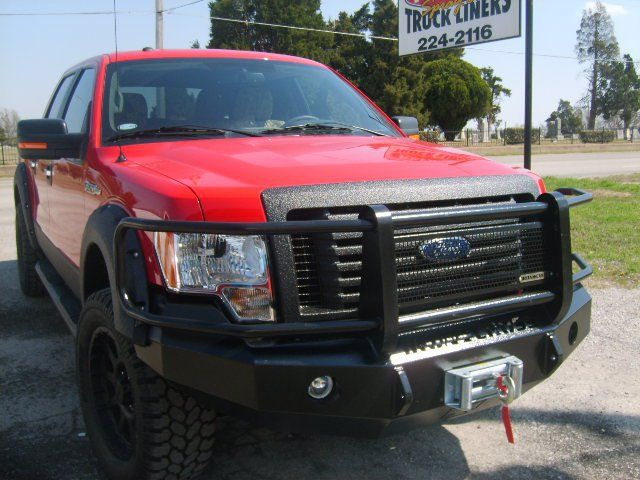 Iron Cross 24-415-15 Winch Front Bumper with Grille Guard Ford ...
