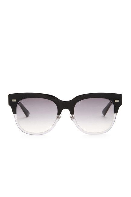 6f81b6f7a17 Image of GUCCI Women s Clubmaster Acetate Frame Sunglasses