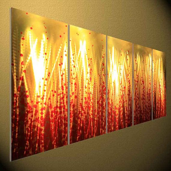 Metal Sculpture Wall Art, Oil Painting , Home decor , Modern Art ...