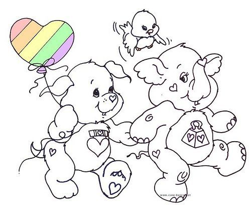 Pin By Laura Tolosa On Colouring Pages Care Bear Care Bears Cousins Coloring Pages