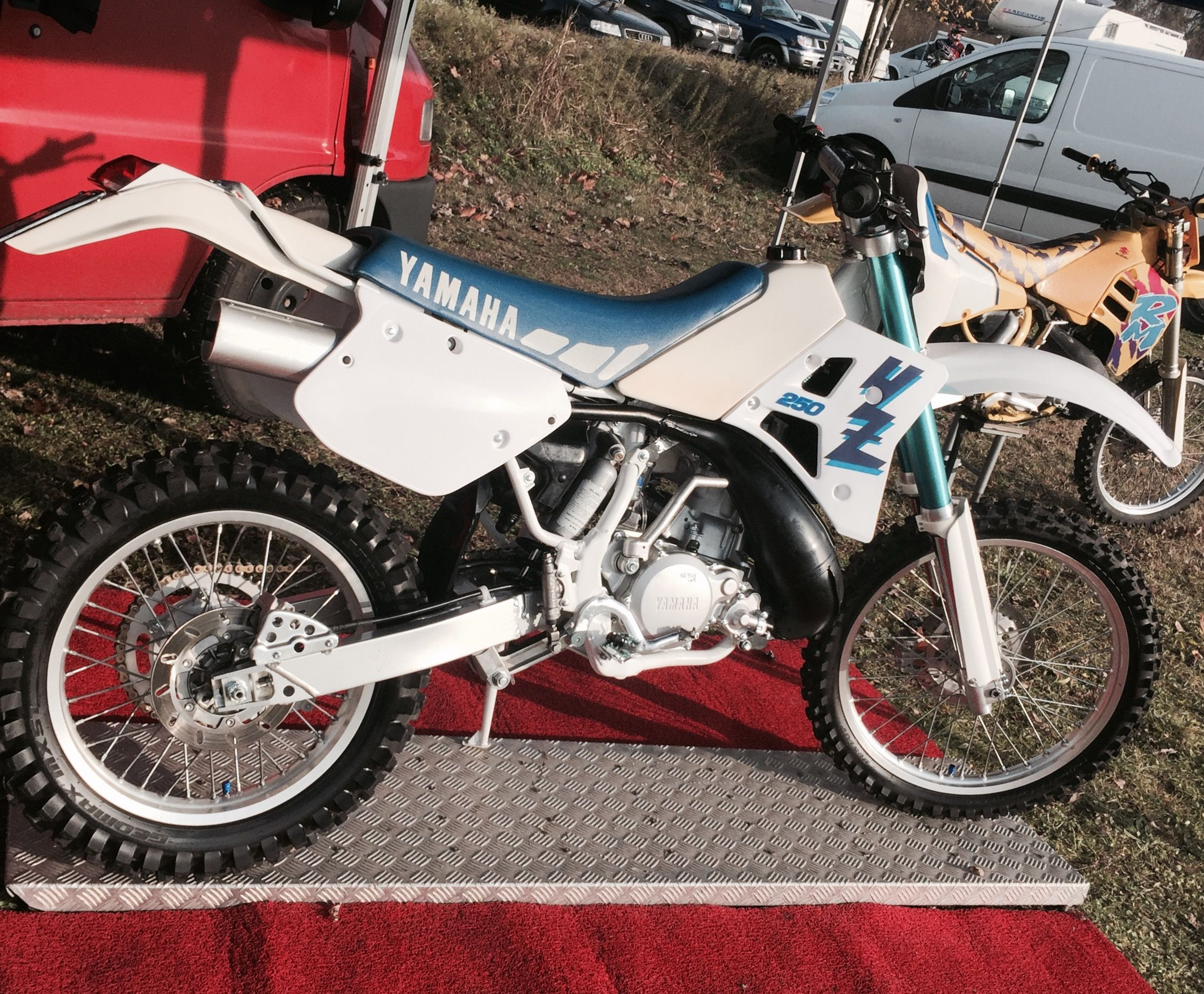 vintage yz yamaha motorcycles forsale
