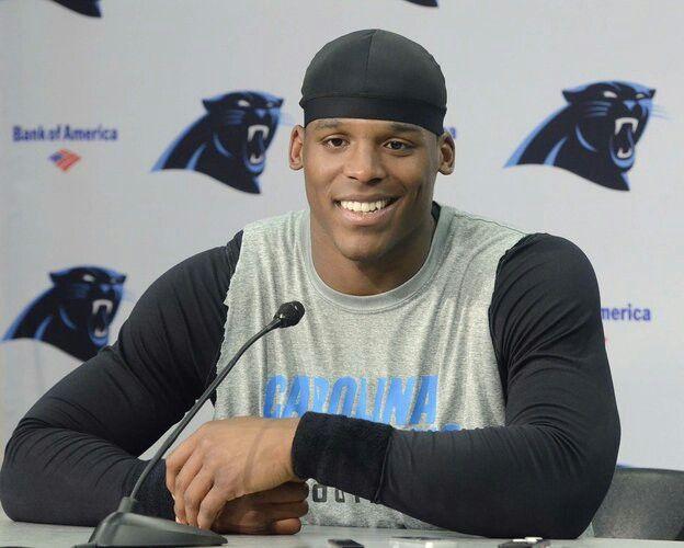 Cam Newton!!! That smile:)