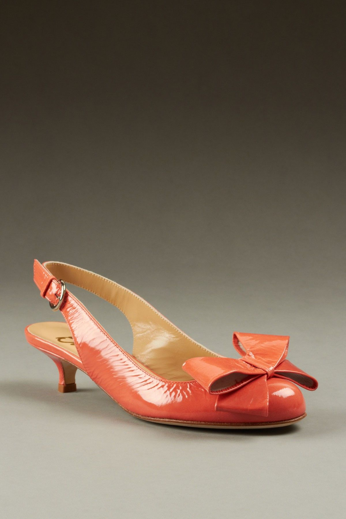 bdb4df657ca9d Tibi   Butter Slingback Kitten Heel on sale for  149  love that retro bow