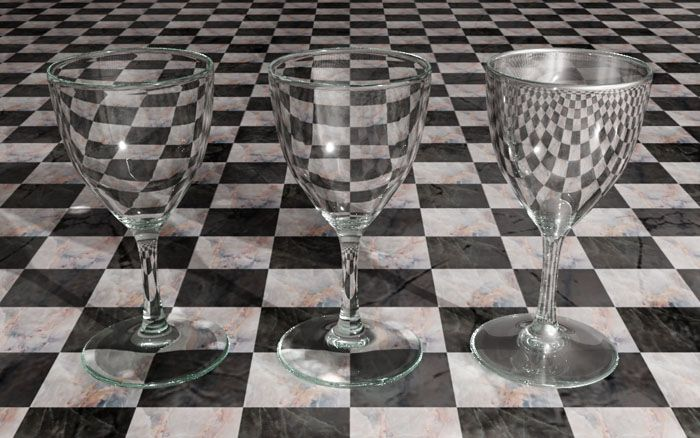 Vray Materials Glass And Diamonds Glass Glassware Martini Glass