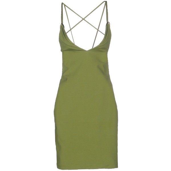 Green Stretch Dresses