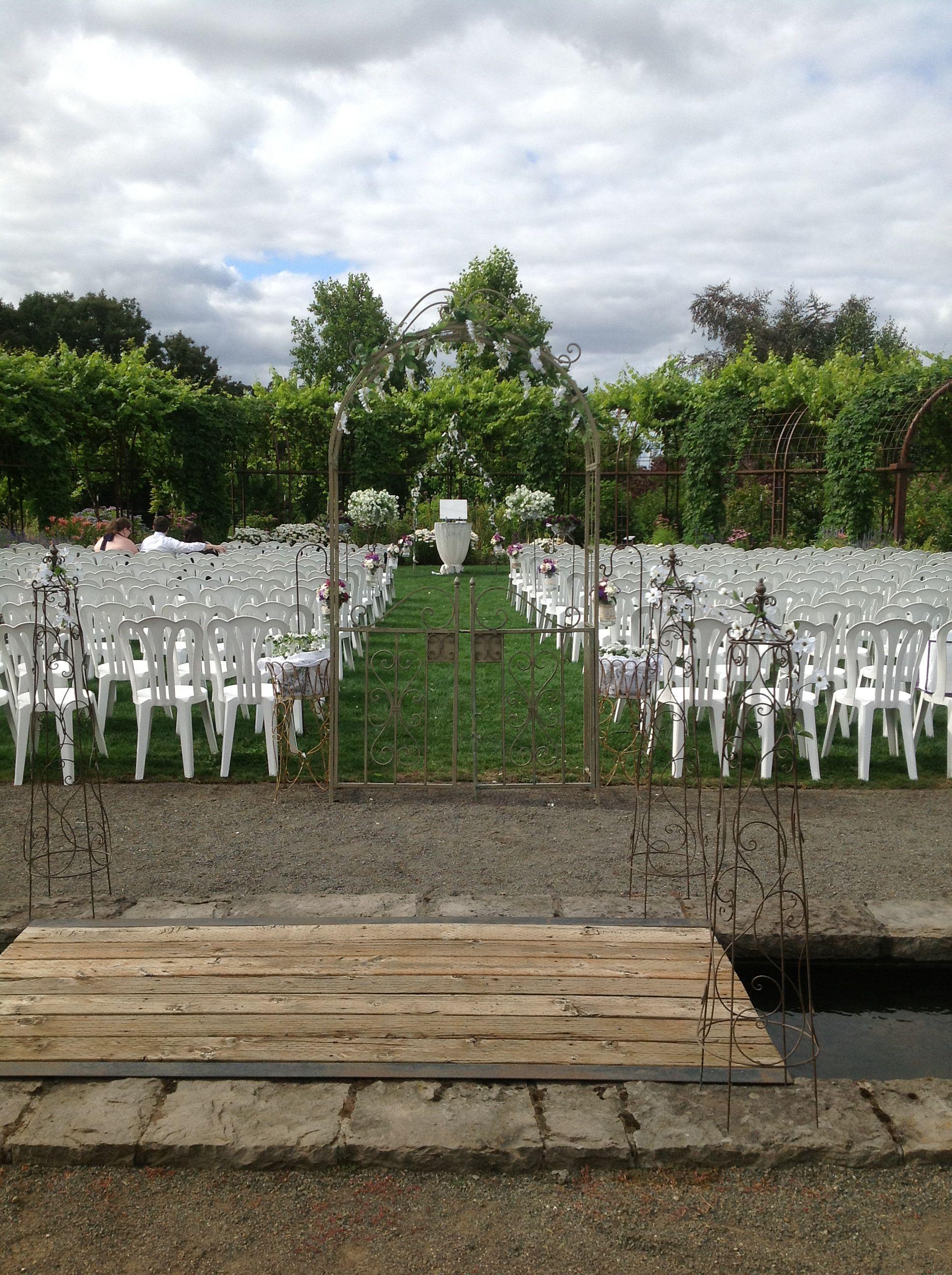 Wedding decorations gate  Gate Arch  Rental  Danner u Soli Wedding decorations