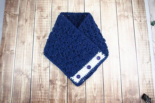 Crochet pattern: Celestial Cowl by Janaya Chouinard