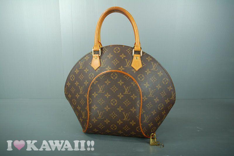 314265c0f31b Authentic Louis Vuitton Monogram Ellipse MM Hand Bag M51126  LouisVuitton   HandBag