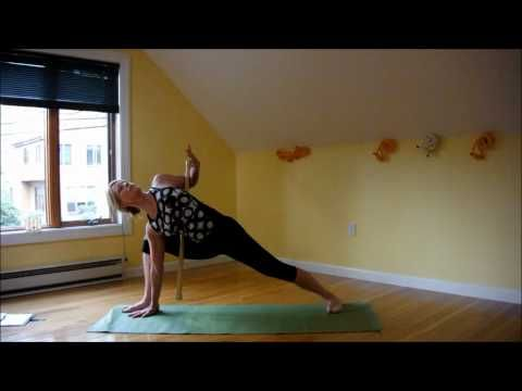 standing poses with stick support  youtube  iyengar yoga