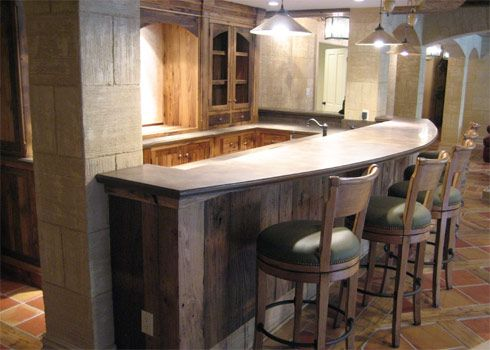 Beautiful Bar In The Basement. A Must! But You Better Hide The Liquor When