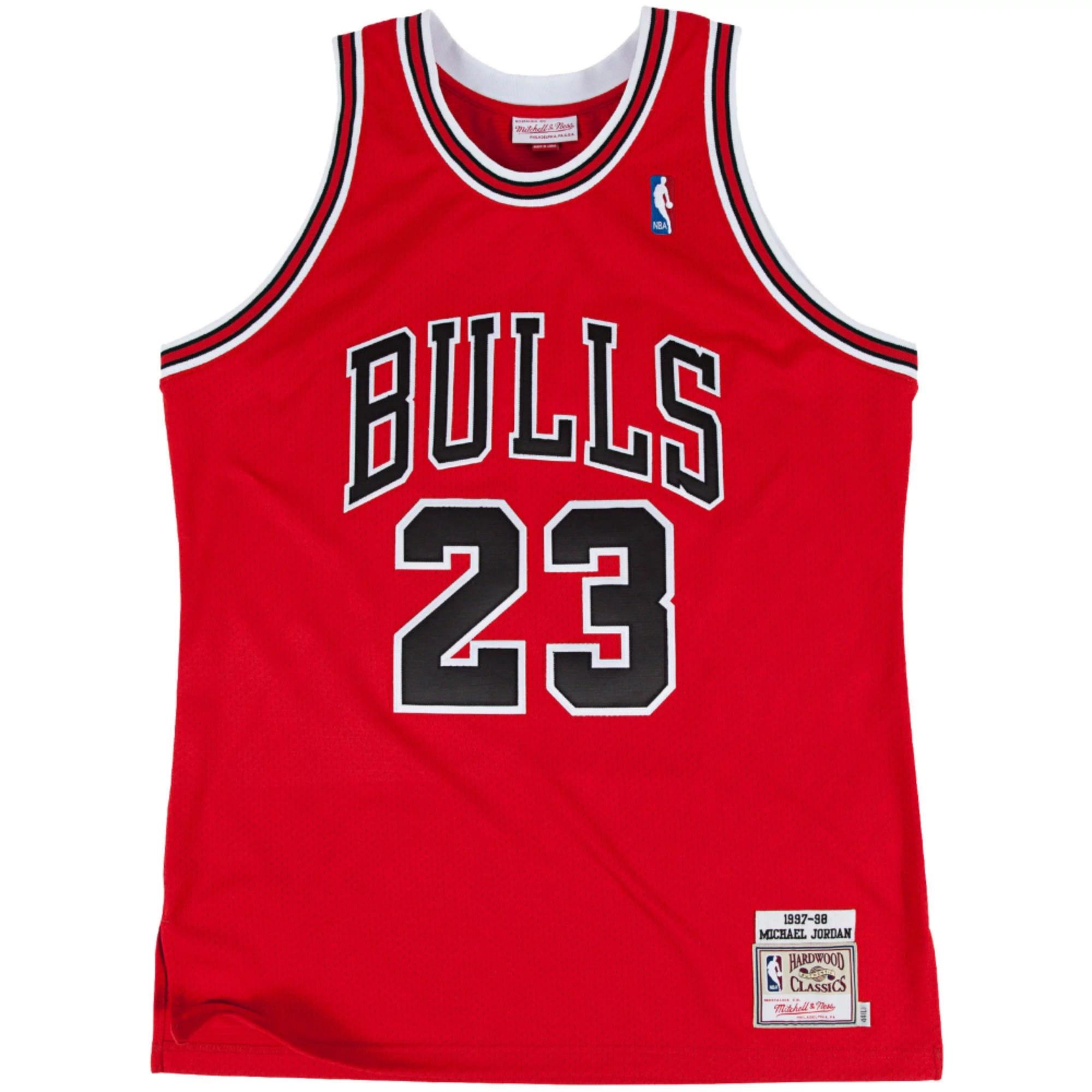 more photos 05c07 c0216 Chicago Bulls 1997/98 Red Retro 100% Authentic Jersey ...