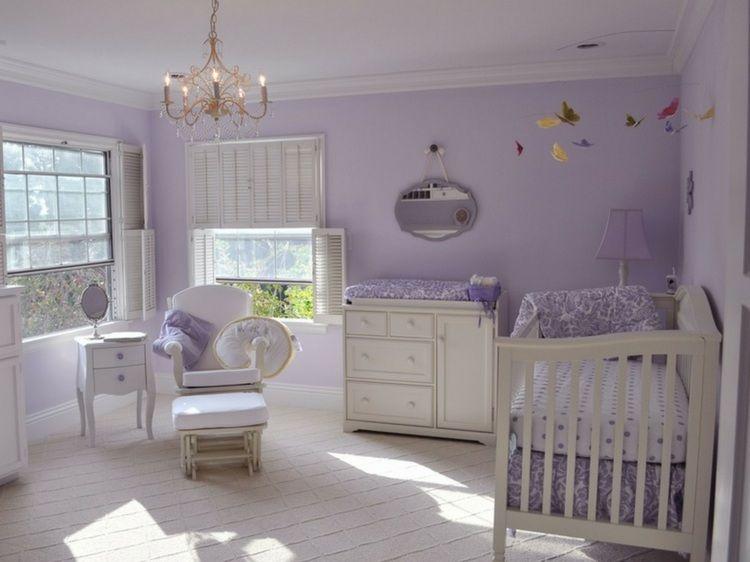 Décoration chambre bébé fille: 99 idées, photos et astuces ...