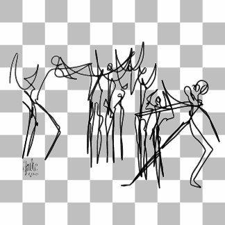 The Dance Class BnW_