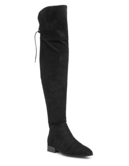 6bdada52871 Design Lab Lord   Taylor - Gabry Suede Over-The-Knee Boots