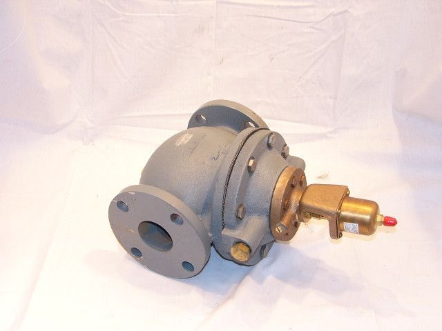 "Johnson Controls V43AS-2 2"" R-22 160/260# Actuated Water Valve"
