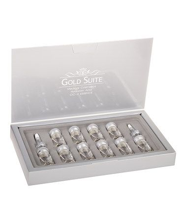 Look at this #zulilyfind! Gold Suite Hyaluronic Acid Serum - Set of 10 by Dermovia #zulilyfinds