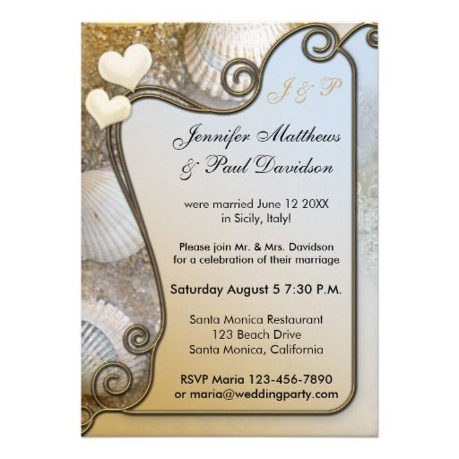post wedding celebration invitations | beach_post_wedding_party_invitation-r27b4fa5aa12e40b1bf696219e9db916f ...