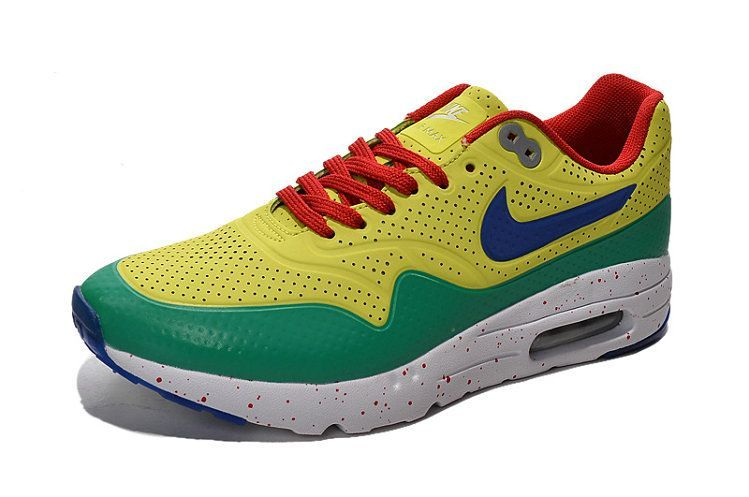 best website c0f66 824fa 2018 Cheap Priced Nike Air Max 1 Ultra 2016 Tour Yellow Green Red Shoe