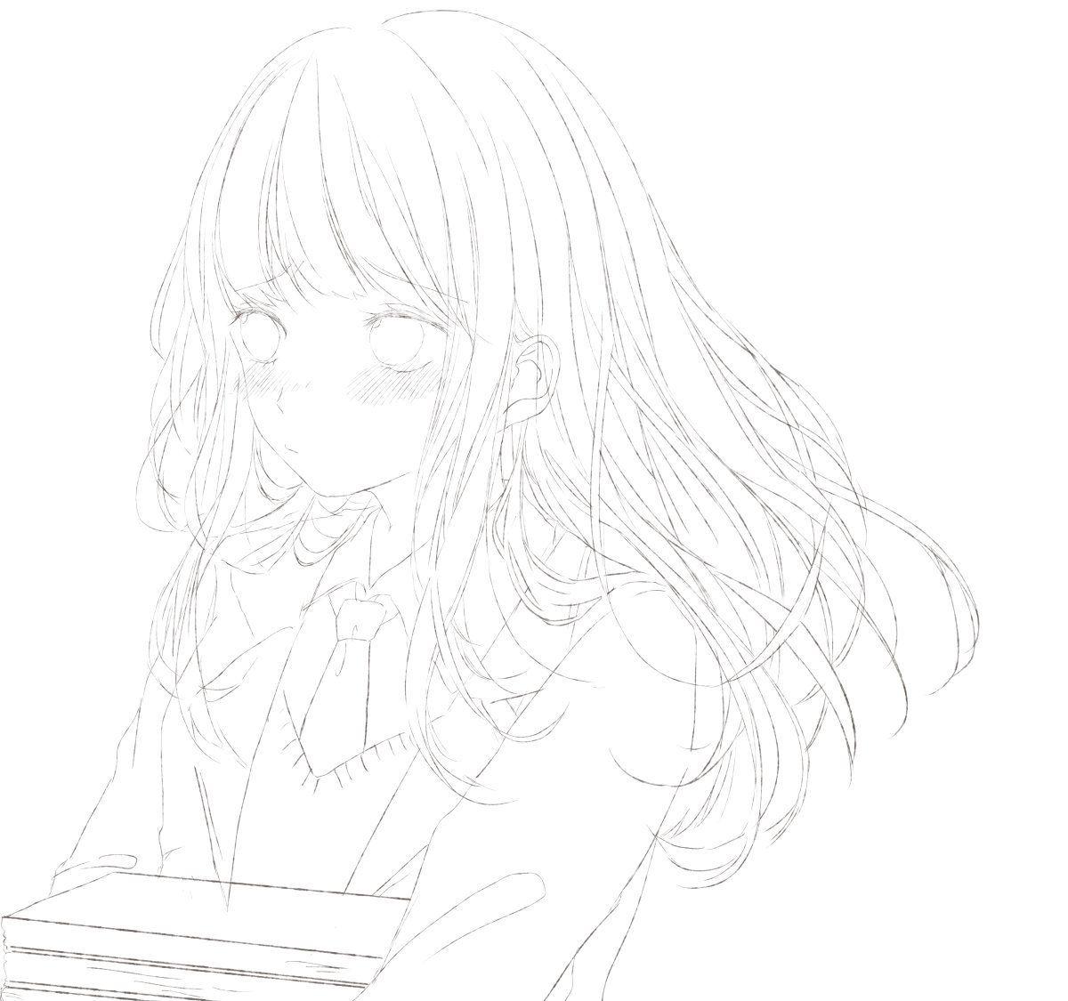 「drawings」おしゃれまとめの人気アイデア|Pinterest|😛🎈 可愛い女の子 イラスト, 髪 描き方