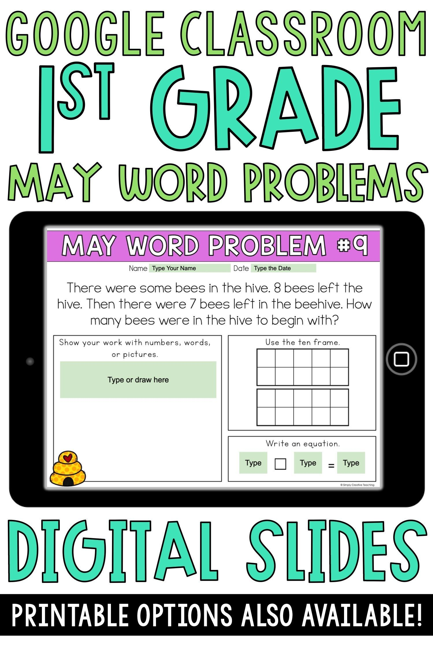 May Addition Subtraction Word Problems For 1st Grade Distance Learning Subtraction Word Problems Word Problems Addition And Subtraction Grade addition and subtraction word