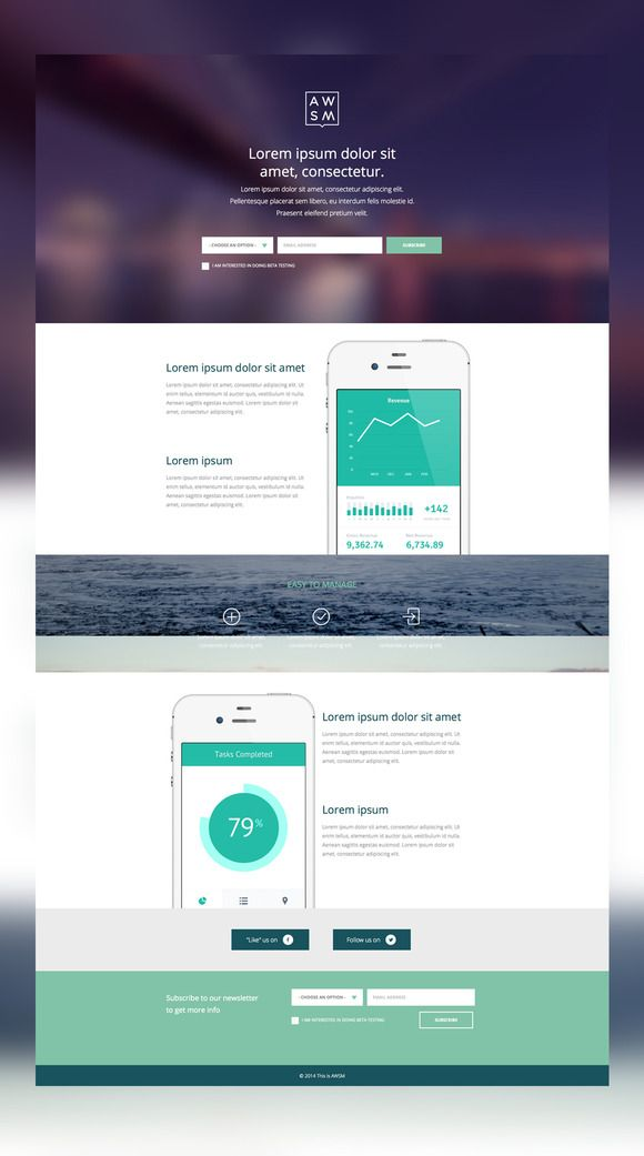 Check out App Launch Website by this is awsm on Creative
